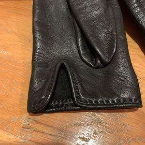 Hermes Other - Vintage Hermès Leather Gloves